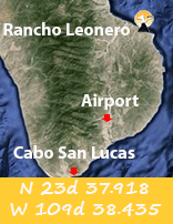 Rancho Leonero Map